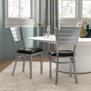 Alvera Upholstered Dining Chair (Set of 2) by Ebern Designs SKU:AA474964 Description