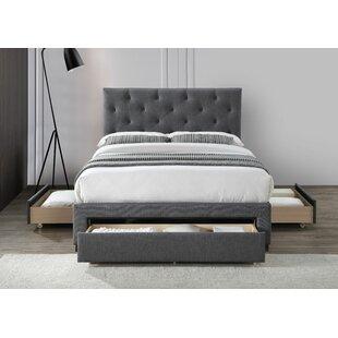Nezihe Upholstered Bed Frame By Ebern Designs