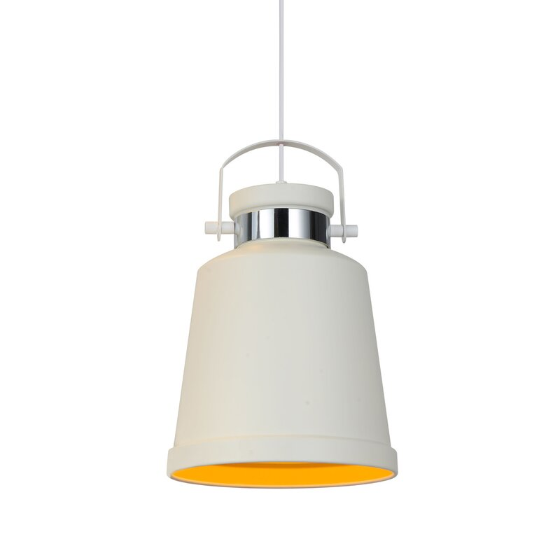 Cocoweb Biella 1 Light Single Bell Pendant Wayfair