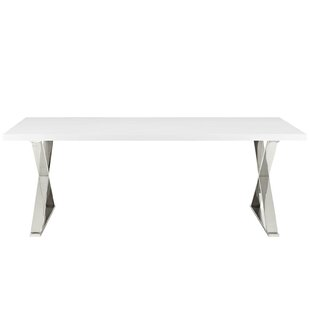 Scanlan Dining Table by Orren Ellis 2019 Sale