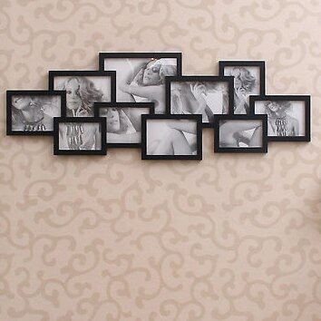 Adecotrading 10 Opening Collage Picture Frame Reviews Wayfair