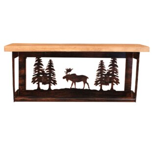 Coast Lamp Mfg. Iron Moose and Pine Trees 20