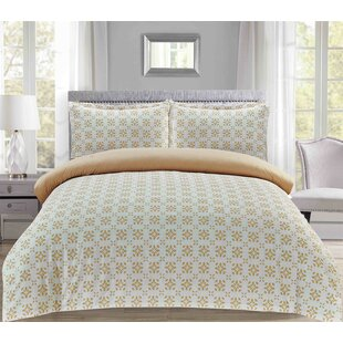 Losey Reversible Duvet Cover Set