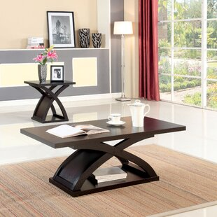 Read Reviews Annica 2 Piece Coffee Table Set (Set of 2) By Wade Logan