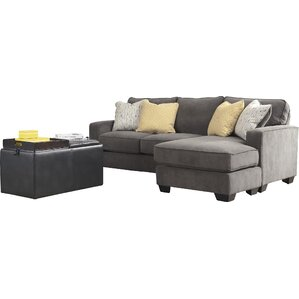 Harriett 93  Reversible Chaise Sectional  sc 1 st  Joss u0026 Main : couch chaise - Sectionals, Sofas & Couches