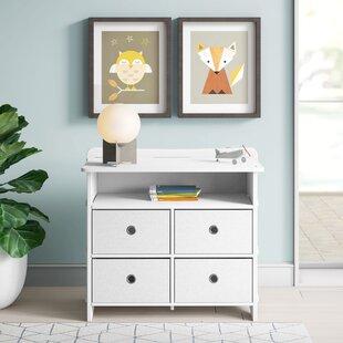 Culley 4 Drawer Dresser with Media Shelf by Mack amp Milo
