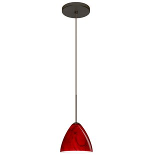 Mia 1 Integrated Bulb Mini Pendant by Besa Lighting