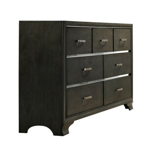 Slade Wooden 7 Drawer Double Dresser