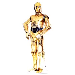 Star Wars - C-3P0 Life-Size Cardboard Stand-Up by Advanced Graphics