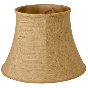 12 Burlap Bell Lamp Shade