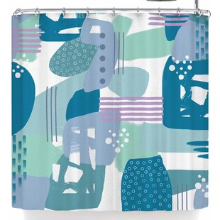 Li Zamperini Abs Single Shower Curtain