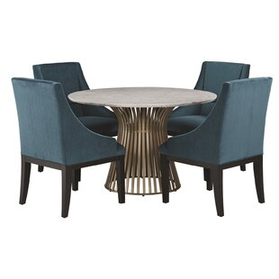 Dungannon 5 Piece Dining Set by Brayden Studio Coupon