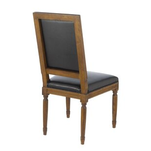 Janet Vintage French Square Upholstered Dining Chair (Set of 4)