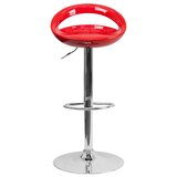 Carle Swivel Adjustable Height Bar Stool by Wade Logan®
