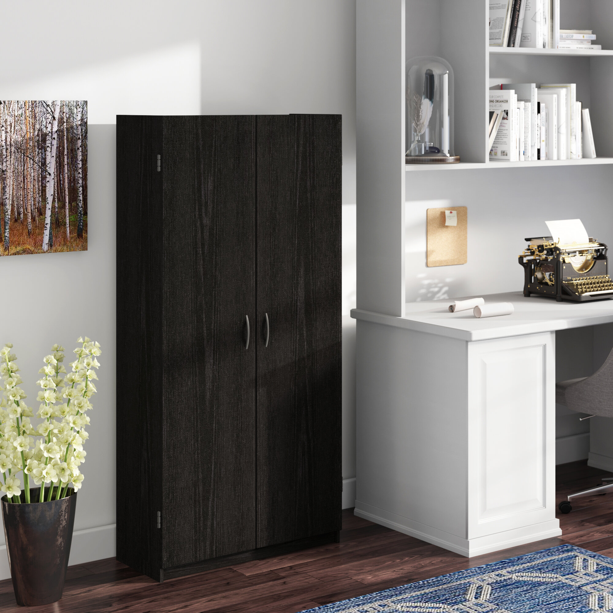 Picture of: Black Office Storage Cabinets You Ll Love In 2020 Wayfair
