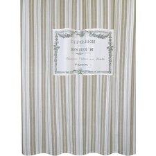 metro farmhouse cotton bonheur shower curtain