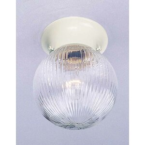 Roth 1-Light Ceiling Fixture Flush Mount