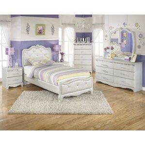 Delightful Sylvia Panel Configurable Bedroom Set