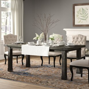 Madeleine Solid Wood Dining Table by Birch Lane™ Heritage 2019 Sale