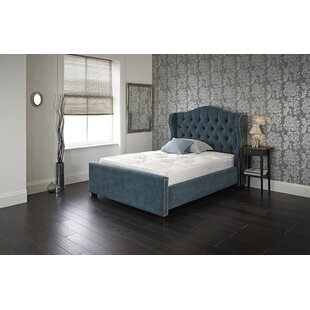 Micah Upholstered Bed Frame By Canora Grey