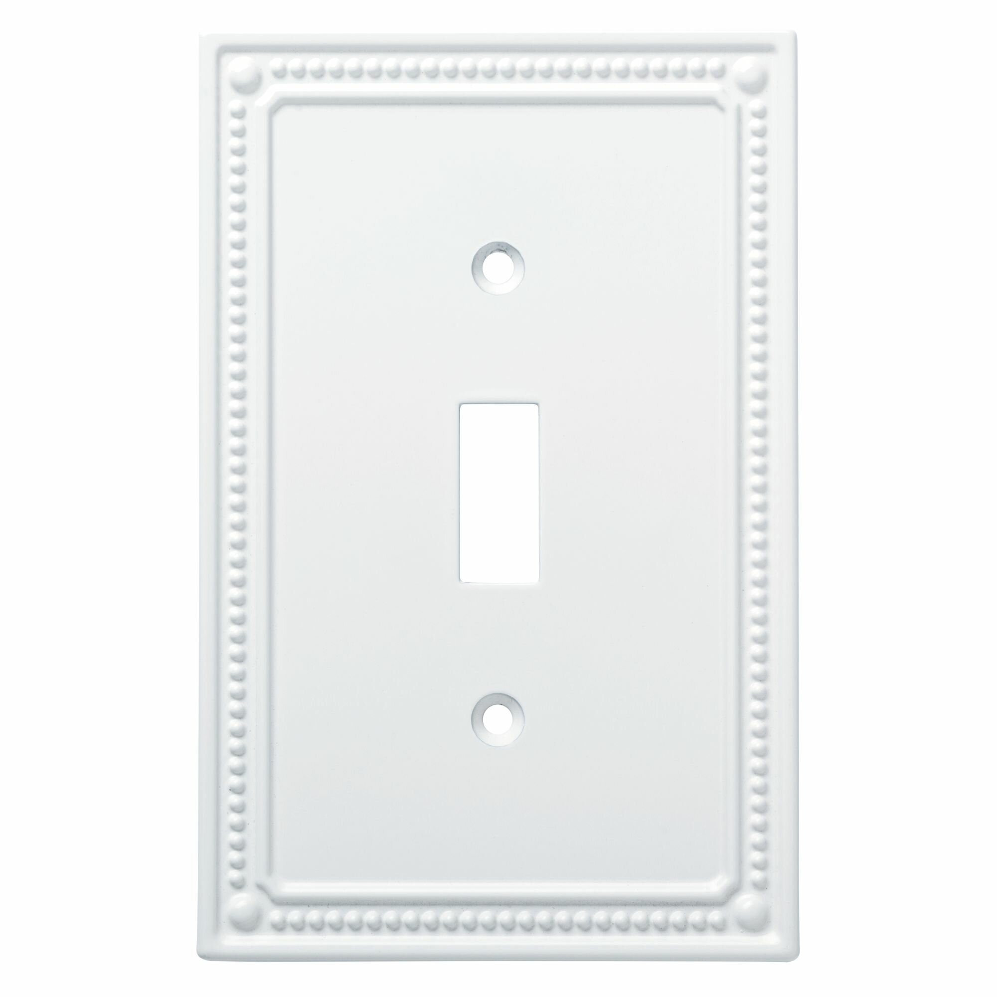 Franklin Brass Classic Beaded 1 Gang Toggle Light Switch Wall Plate Reviews Wayfair