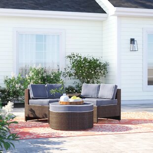 Bermuda 4 Piece Conversation Set with Cushions