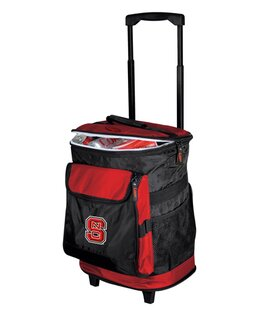 24 Can Collegiate Rolling Cooler - North Carolina State By Logo Brands