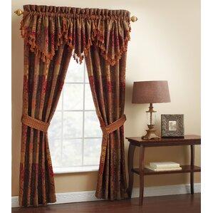 galleria ascot rod pocket swag curtain valance - 63 Inch Curtains