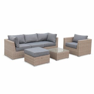 Laputz 4 Piece Conservatory Sofa Set By Sol 72 Outdoor