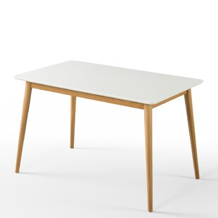Bedwell Mid Century Wood Dining Table By Mikado Living