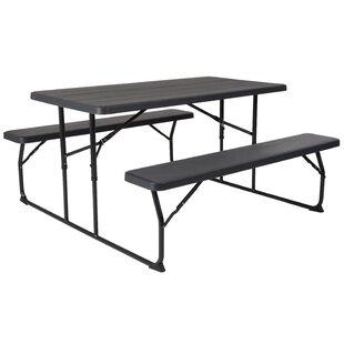 Freeport Park Steiner Folding Picnic Table