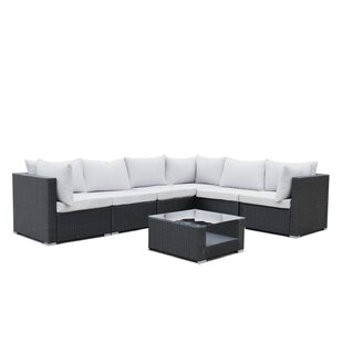 Lecroy 7 Piece Sectional Set with Cushions