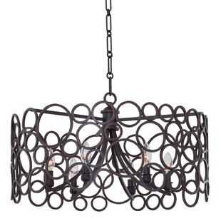 Kalco Ashbourne 6-Light Drum Chandelier