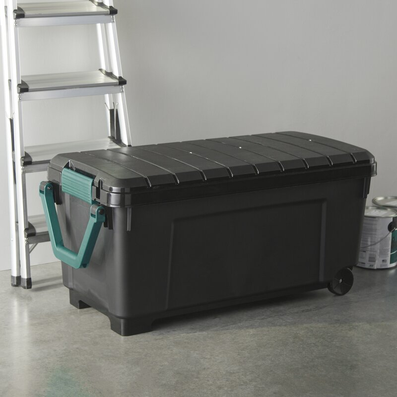 Wayfair Basics Plastic Storage Totes with Handle