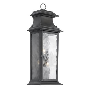 Pencewood 3-Light Outdoor Wall Lantern by..