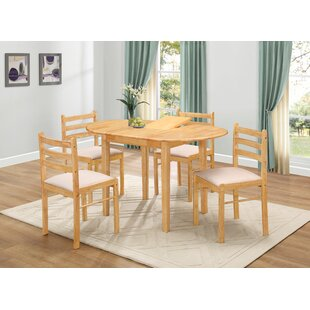 Review Callaway Dining Set With 4 Chairs