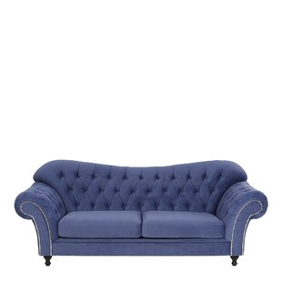 Irvin 3 Seater Chesterfield Sofa By Willa Arlo Interiors