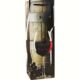 Aged Single Wine Bottle Carrier
