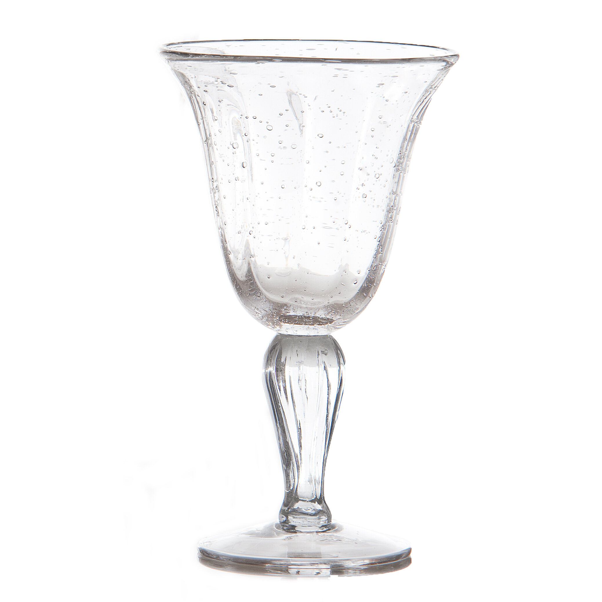Abigails Bubble 12 Oz Glass Goblet Wayfair