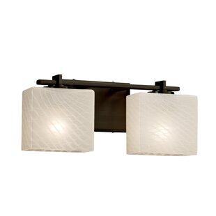 Brayden Studio Luzerne 2-Light 18W Vanity Light