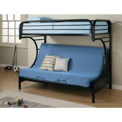 Zoomie Kids Jenkinson Twin Futon Bunk Bed Wayfair
