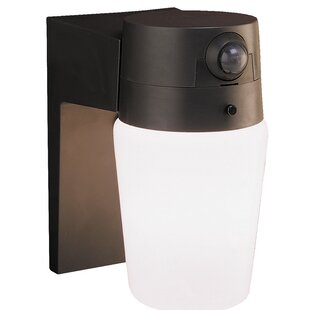 Outdoor Security Wall Pack with Motion Sensor by Heath-Zenith