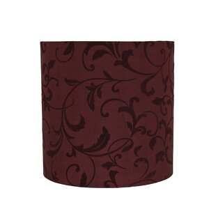 Transitional Spider 10 Fabric Drum Lamp Shade