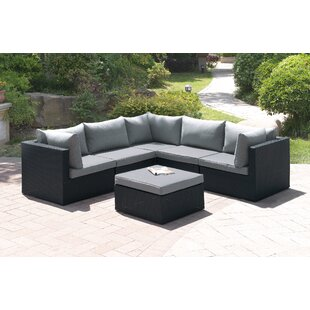 6 Piece Sectional Set with Cushions by A&J Homes Studio