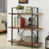 Weaver Metal Etagere Bookcase by 17 Stories