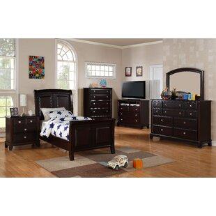 Alcott Hill Holzman Sleigh Configurable Bedroom Set