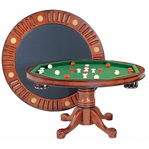 Round Bumper Pool 4.5' Game Table