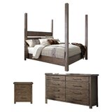 Bartow Four Poster Configurable Bedroom Set by Three Posts