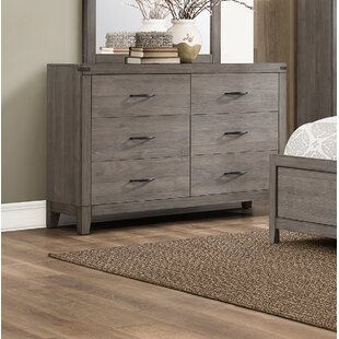 Online Reviews Embree 6 Drawer Double Dresser by Millwood Pines