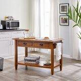 Trisler Kitchen Island by August Grove®